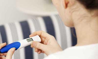 test graviditet